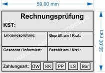 4927 Stempel Trodat Printy Rechnungsprüfung Zahlungsart