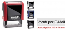 4911 Stempel Trodat Printy Vorab per E-Mail
