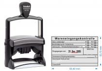 54110 Stempel Trodat Wareneingangskontrolle MDH Unterschrift