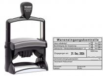 54110 Stempel Trodat Wareneingangskontrolle MDH Unterschrift Lieferant