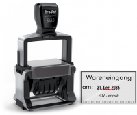 5460 Trodat Professional Stempel Wareneingang EDV erfasst