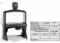 54120-R Stempel Trodat Professional Rechnung Geprüft und Unterschrieben zurück