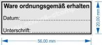 4913 Trodat Printy Stempel Ware ordnungsgemäß erhalten