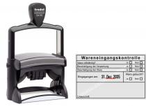 54110 Trodat Professional Stempel Wareneingangskontrolle Ware gebucht