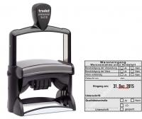 54110 Trodat Professional Stempel Wareneingang Warenannahme unter Vorbehalt