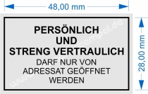 4929 Trodat Printy PERSÖNLICH UND STRENG VERTRAULICH - DARF NUR VON ADRESSAT GEÖFFNET WERDEN