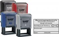 4929 Trodat Printy Wareneingangskontrolle-Wareneingang vorbehaltlich Menge und Qualität- Beschädigung der Verpackung