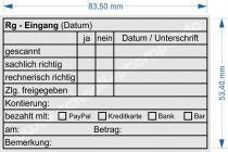 5211 Trodat Stempel Professional Buchungsstempel Rechnungs-Eingang