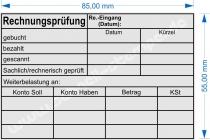 5211 Trodat Stempel Professional Rechnungsprüfung Kostenstelle Datum Weiterbelastung