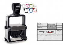5480 Trodat Professional 4.0 NEU FiBu-Zahlung freigegeben-Eingegangen-gebucht von-Konto-Gegenkonto-Interne Buchungs Nummer