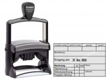 54110 Trodat Professional Rechnungsstempel-gebucht-Lieferant-Überweisung-Freigabe-Zahlung