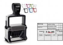 5480 Trodat Professional 4.0 NEU Rechnung Zahlung gebucht Konto Gegenkonto Kostenstelle gescannt