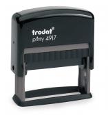 4917 Stempel Trodat Printy Classic Textstempel Abdruckgröße max. 50 x 10 mm