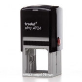 4924 Stempel Trodat Printy Classic Textstempel Abdruckgröße max. 40 x 40 mm