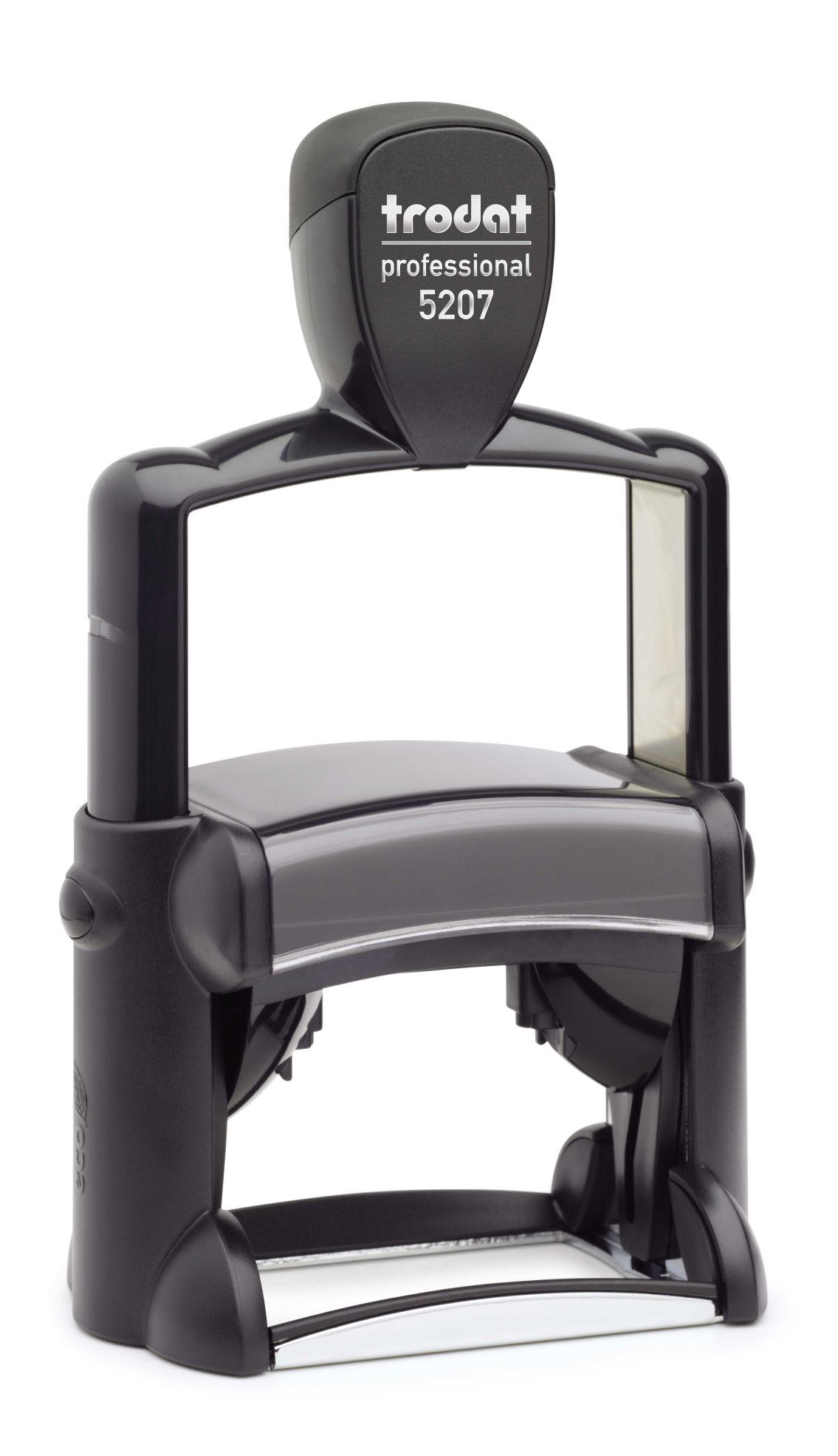 trodat professional 5207 auftragsbest tigung gepr ft schnell automotive e k. Black Bedroom Furniture Sets. Home Design Ideas